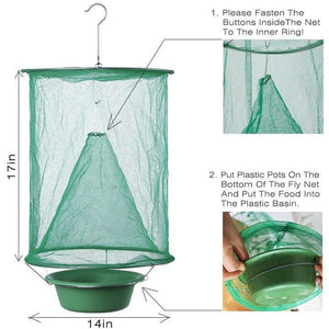 Sunshine Reusable Fly Trap  (Fly Catcher)