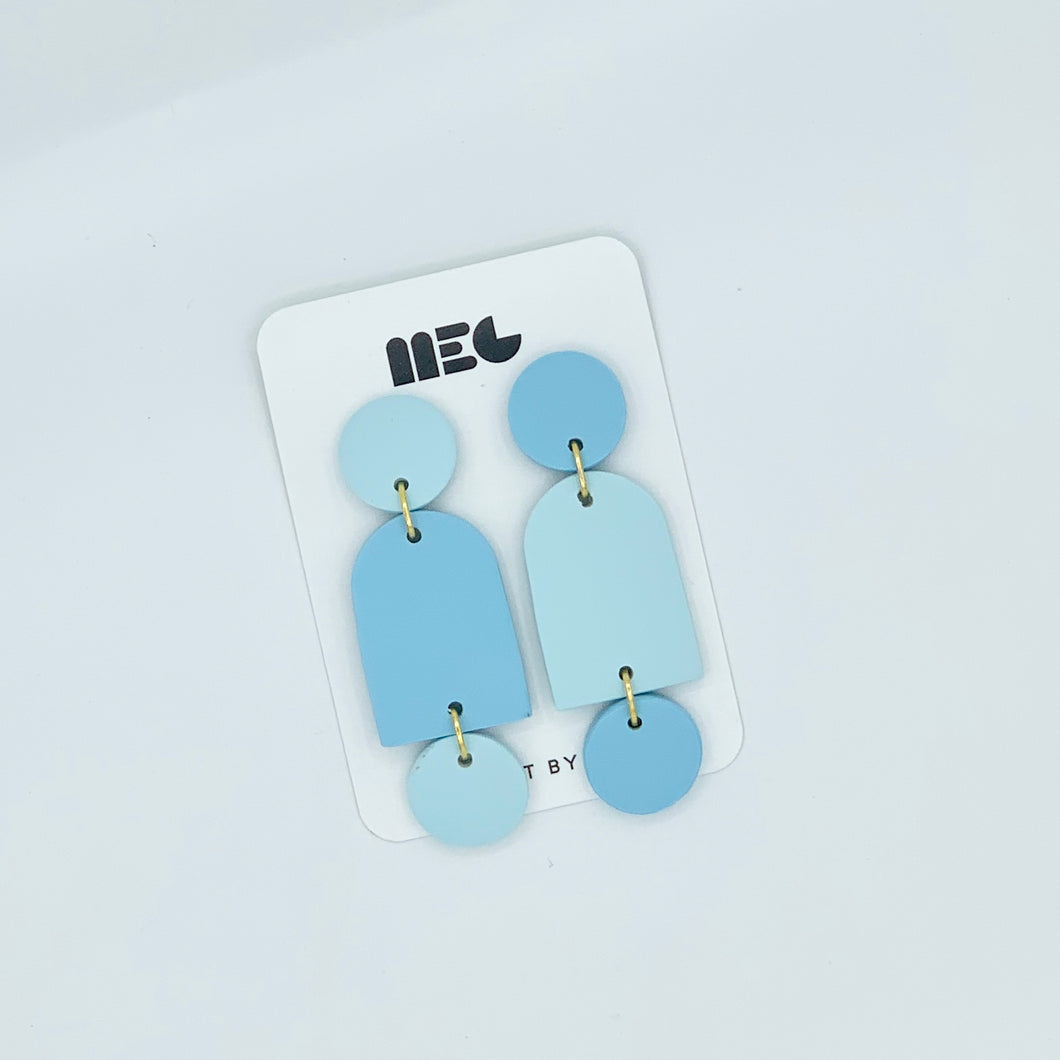 COLOR BLOCK DONNA RAE EARRINGS