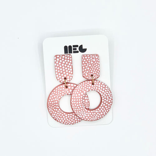 PAINTED JENA HOOPS