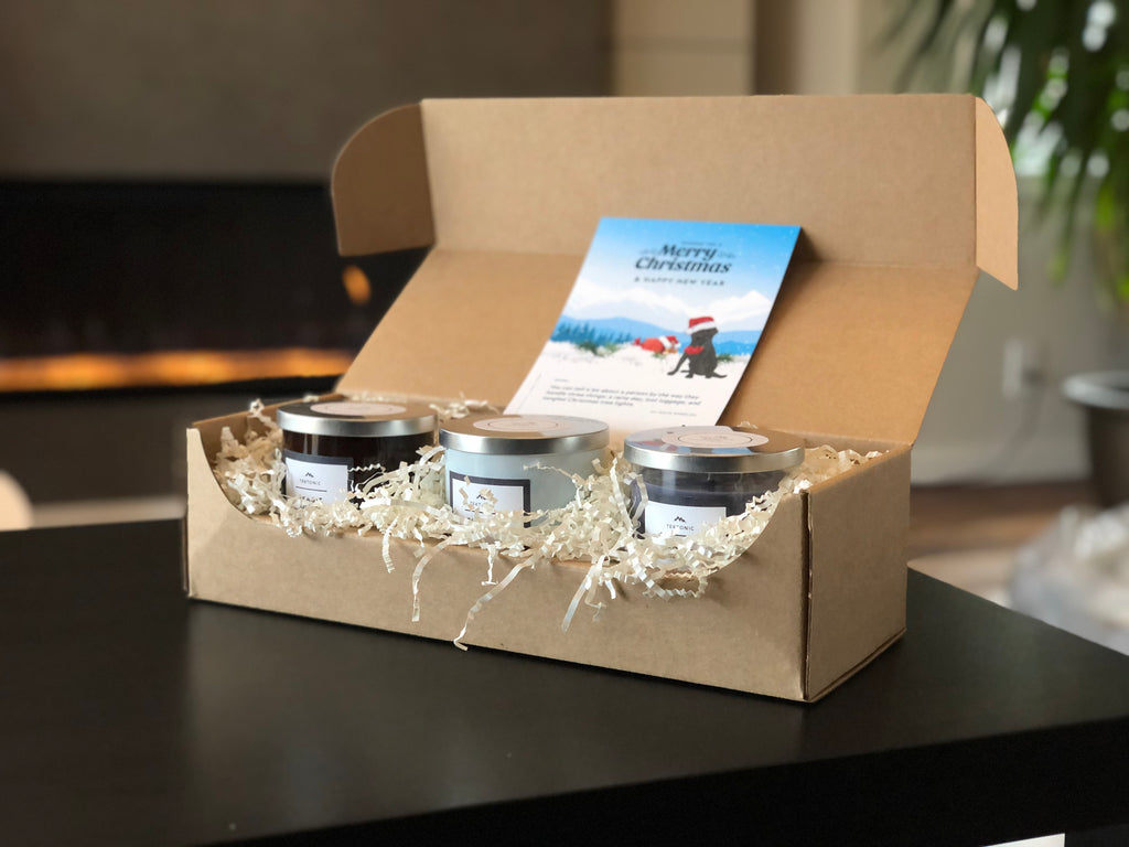 Handcrafted Candle Gift Set