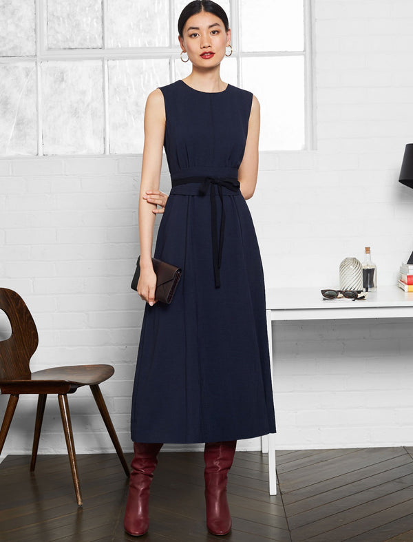 Rosie Sleeveless Maxi Dress - Navy