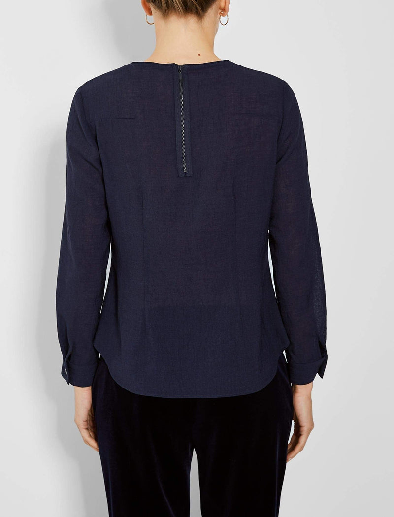 navy blouse uk
