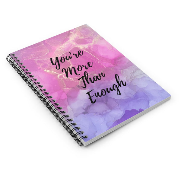 """More Than Enough"" Notebook"