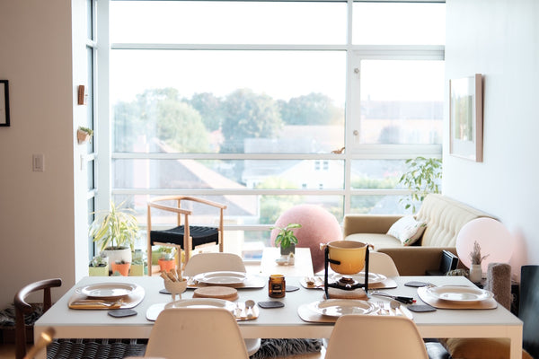 light and modern scandi decor