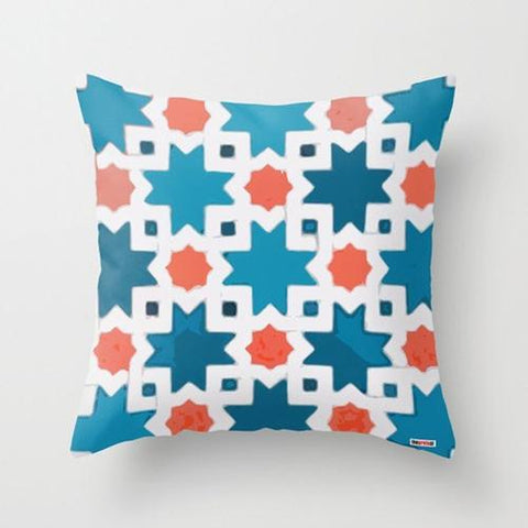 colourful, moroccan cushion