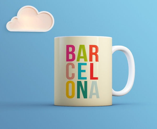Image showing My Cool Town Barcelona mug from The Gretest