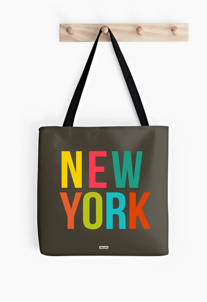 Image showing My Cool Town New York tote bag from The Gretest