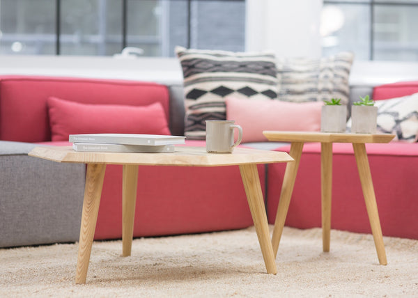 pink scandinavian decor