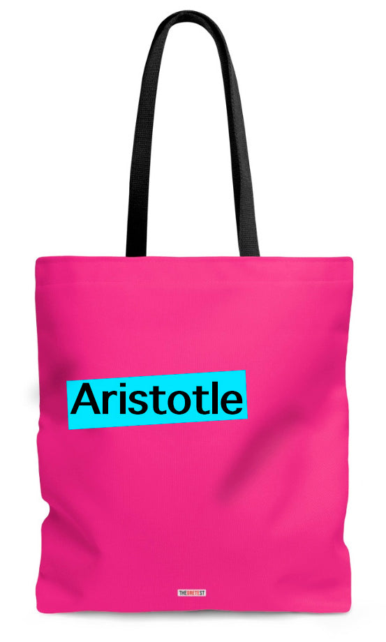 Aristotle Tote bag - Gift for philosophers