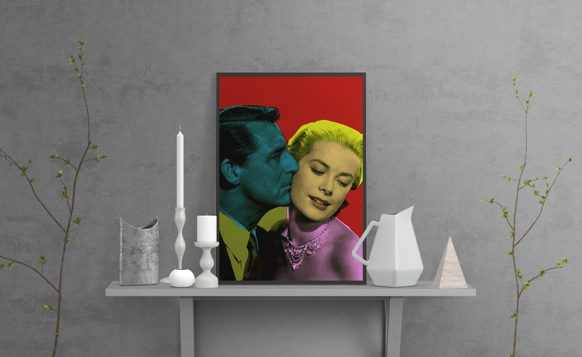 Cary and Grace Art Print - Cinema poster-TheGretest
