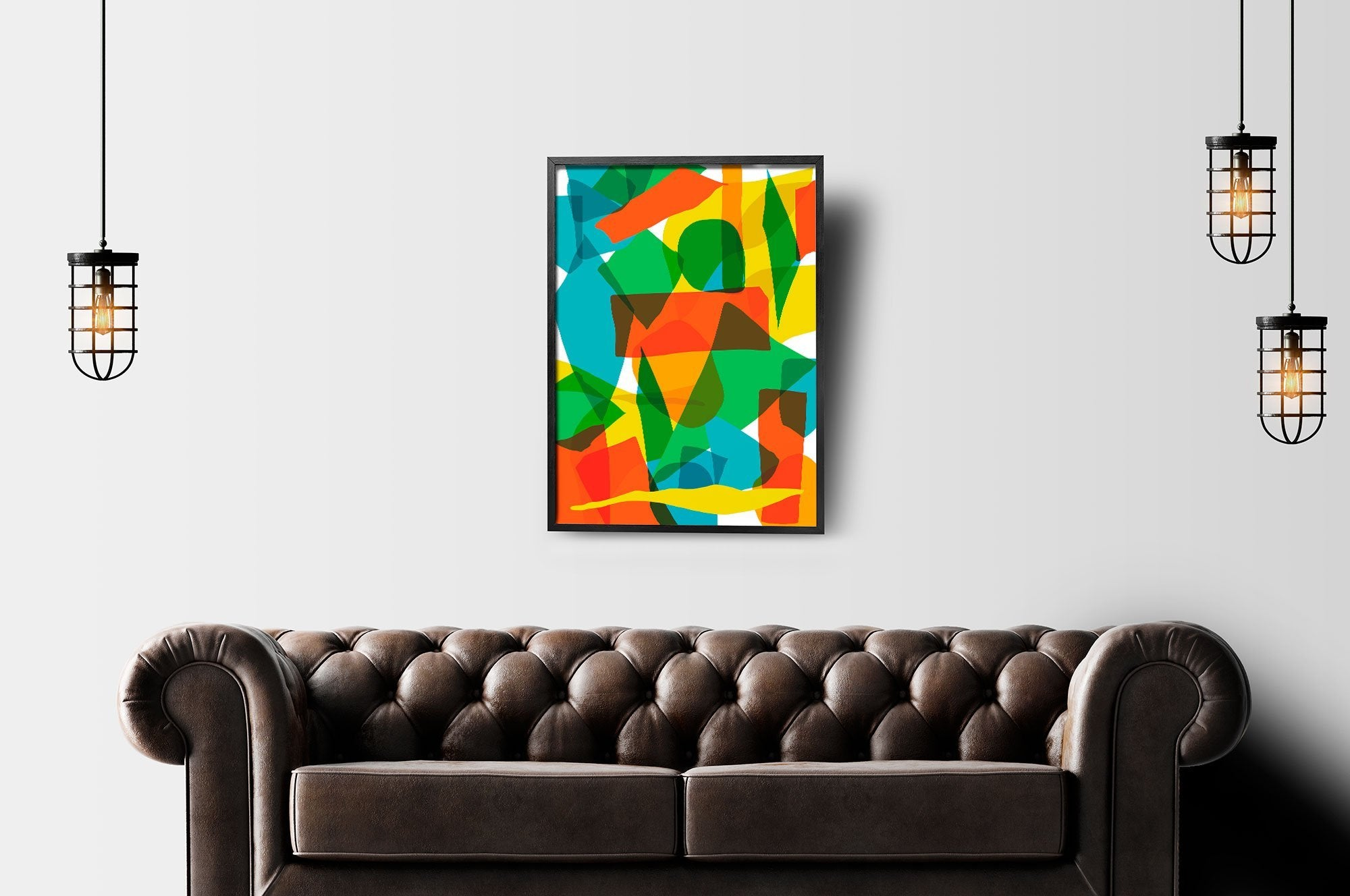 Modern Art Print - Large Art print - The Gretest