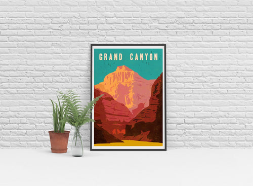 Grand Canyon Art Print - Poster