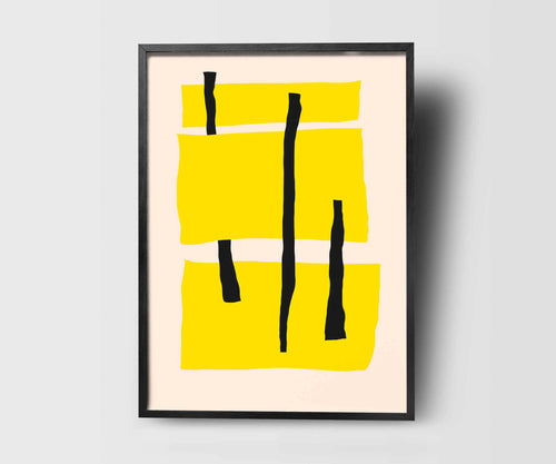 Yellow Me Art Print