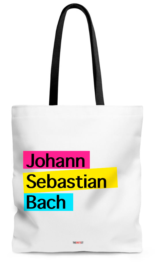 Bach Tote bag - Gifts for music lovers