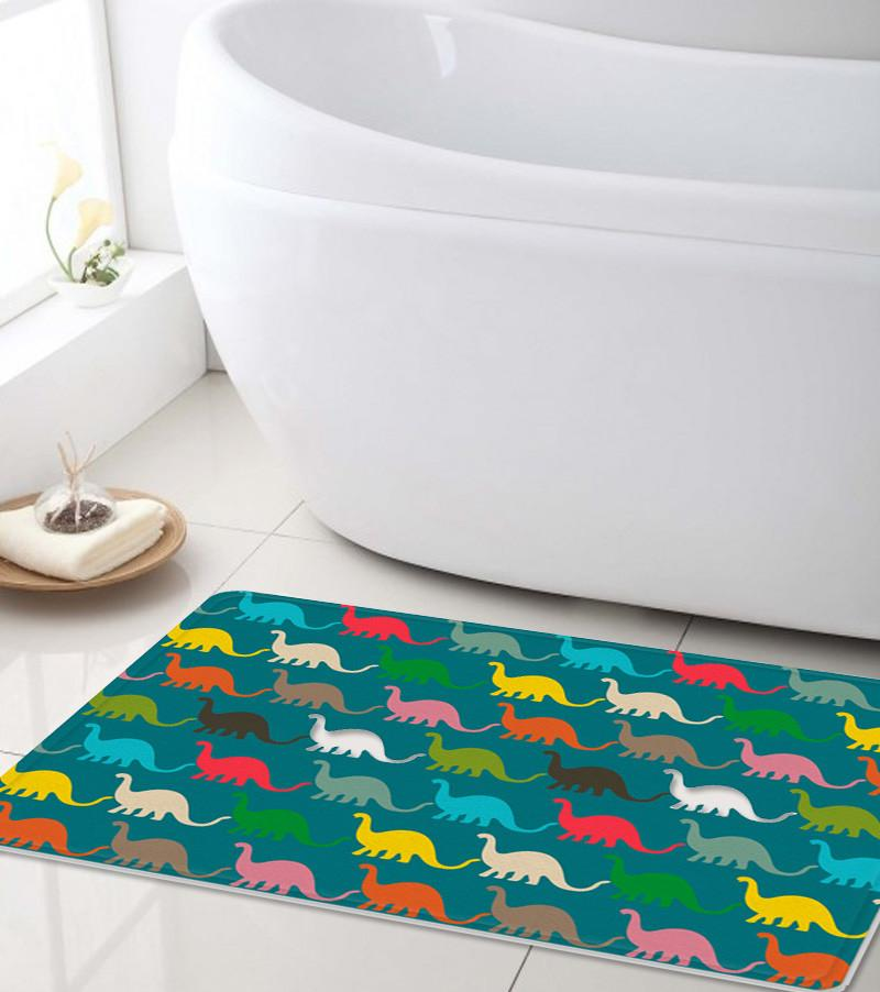 Dinosaurs Bath mat - Kids bath mat -The Gretest