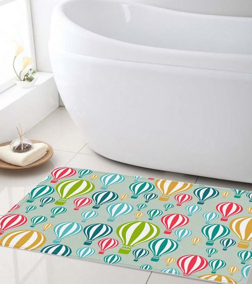Hot Air Balloons Bath mat