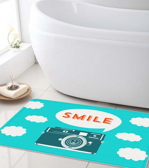 Smile to Camera Bath mat