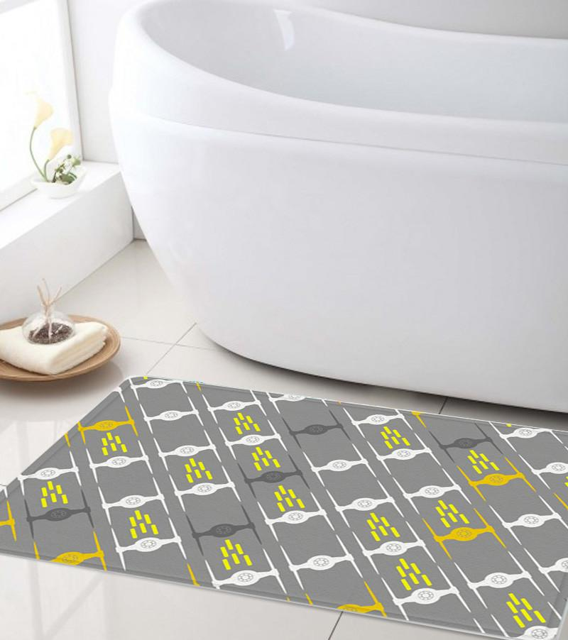 Spaceships Bathroom mat - Modern Shower mat-TheGretest