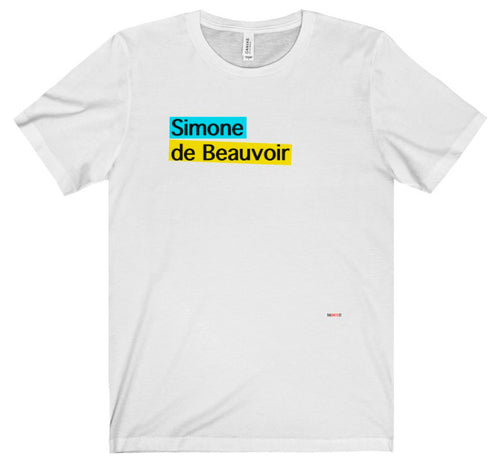 Simone de Beauvoir T Shirt