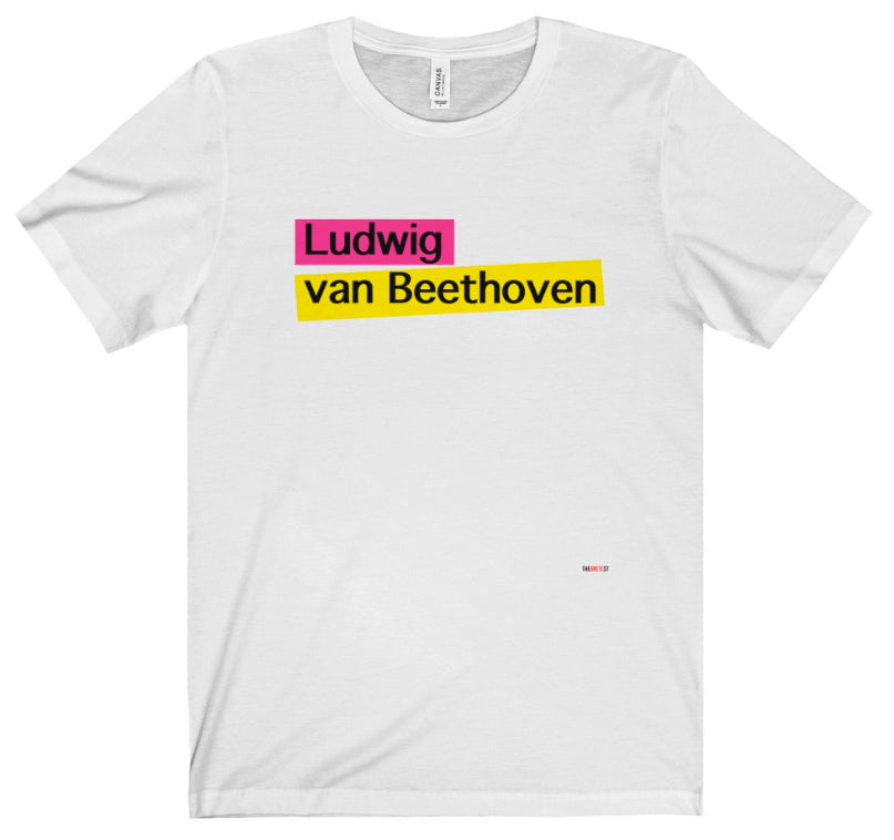 Beethoven T Shirt - gifts for classical musicians