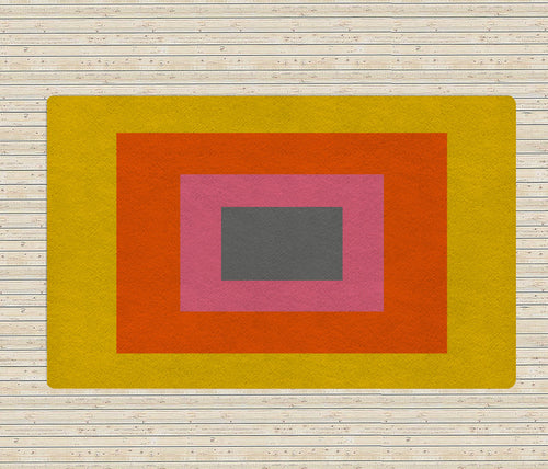 Block Colors Rug II