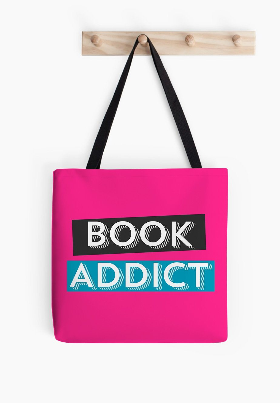 Book Addict Tote bag - Book Fan Gifts