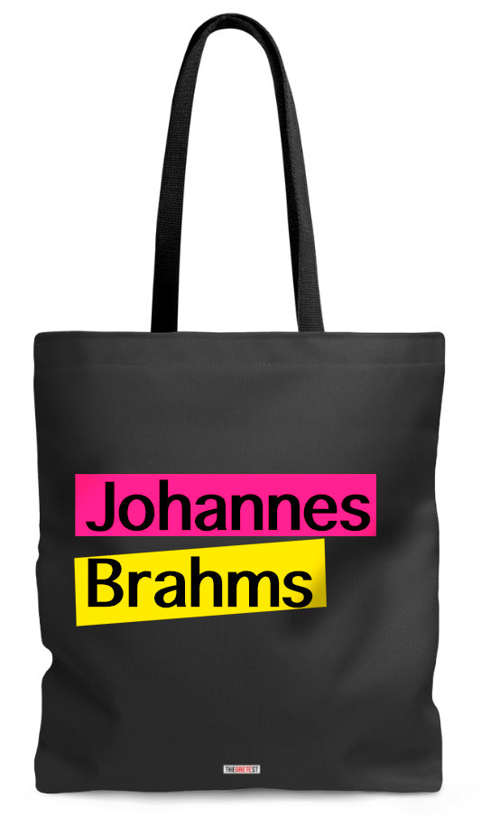 Brahms Tote bag - Gifts for music lovers