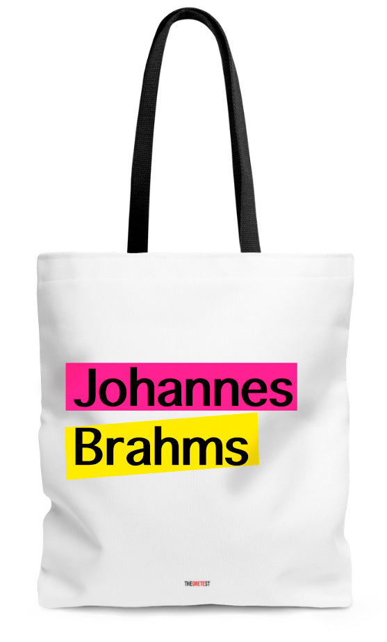 Brahms Tote bag - Gifts for classical music lovers