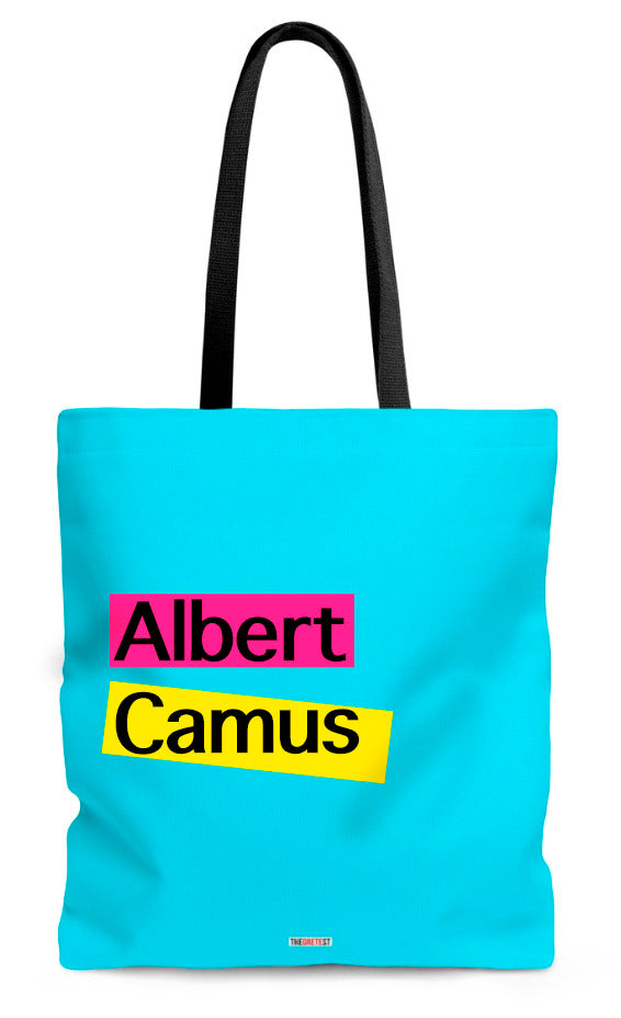 Albert Camus Tote bag - Book Tote bag