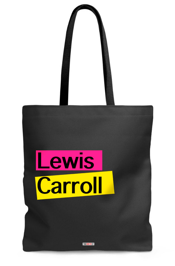 Lewis Carroll Tote bag - Book Tote Bag
