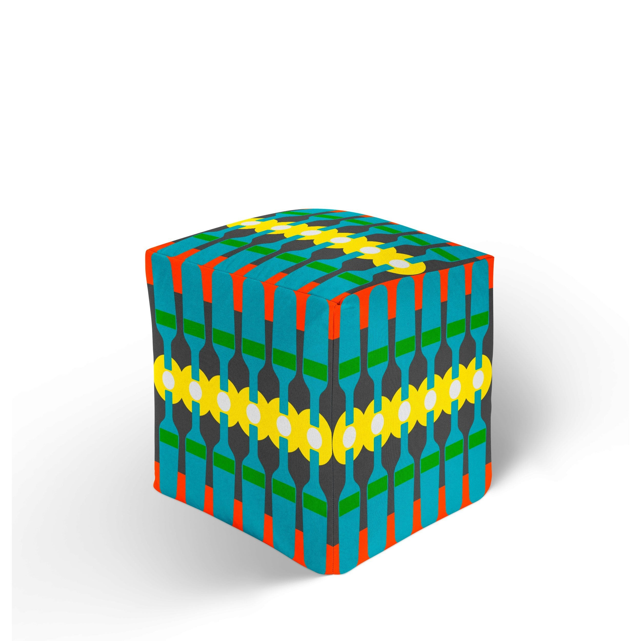 Colorful Ottoman - Modern Ottoman