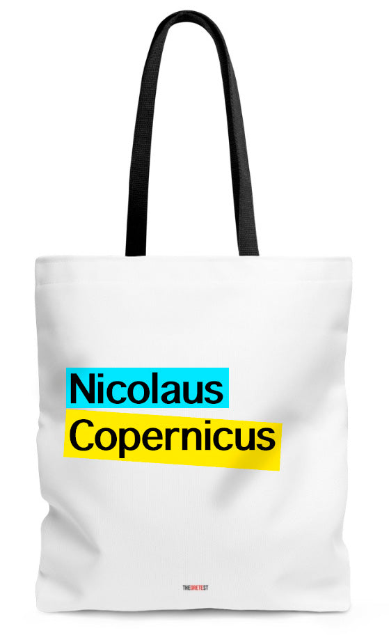 Copernicus Tote bag - Gift for scientific