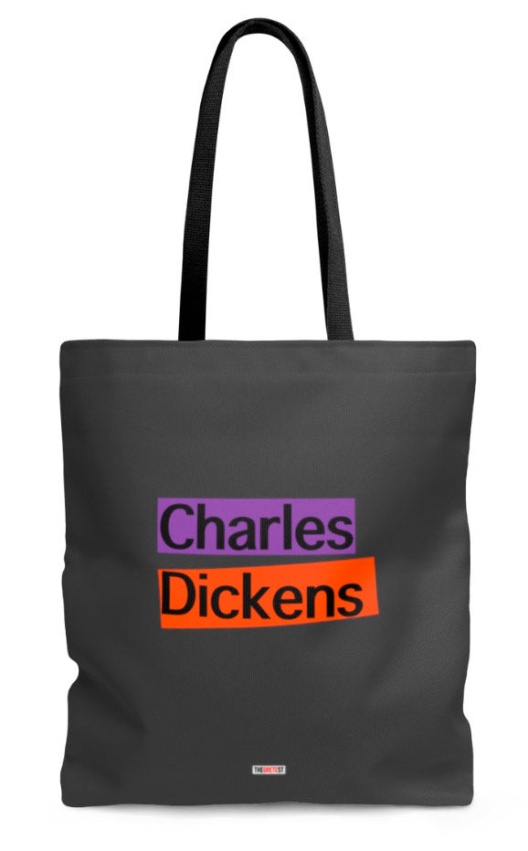 Charles Dickens Tote bag - Gift for Readers