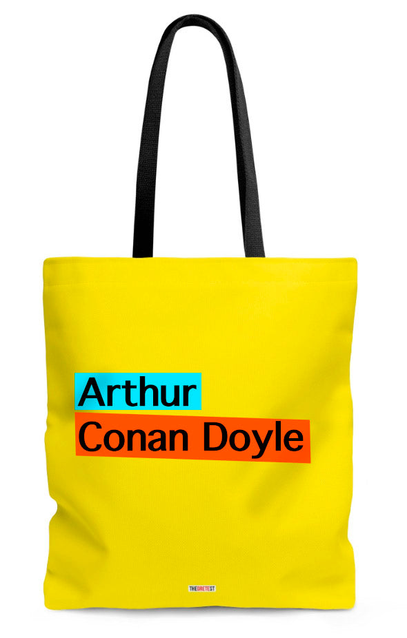 Conan Doyle Tote bag - gifts for readers