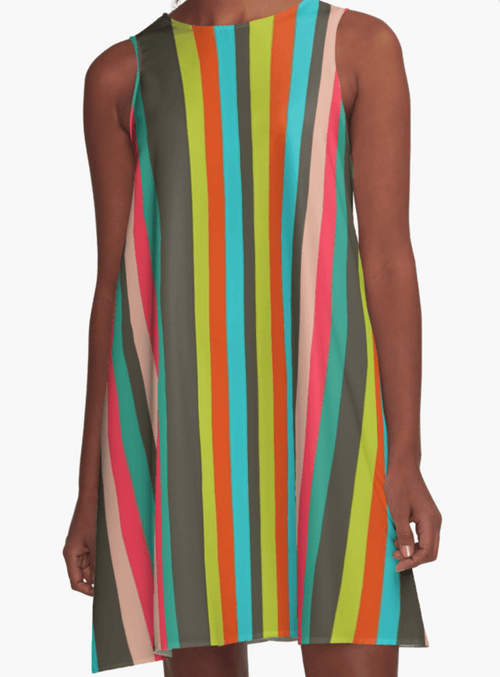 Color Lines Dress