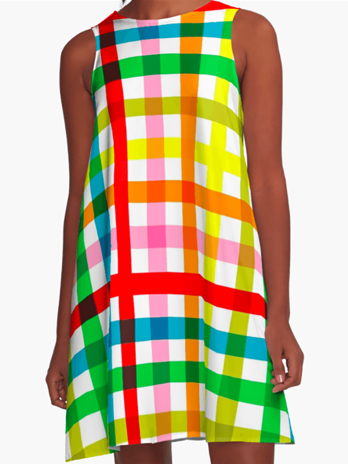 Colorful Dress - Dress for Woman - Modern Patterns Dress-TheGretest