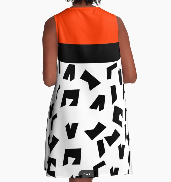 Flare Dress - Dress for Woman - Modern Patterns Dress-TheGretest