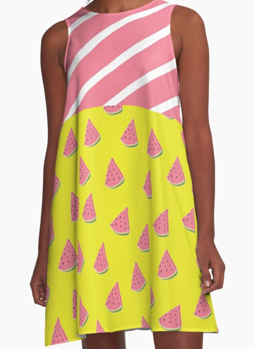 Watermelons Dress - Dress for Woman - Modern Patterns Dress-TheGretest