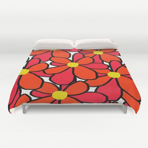 Big Flowers Duvet Cover - TheGretest - 1