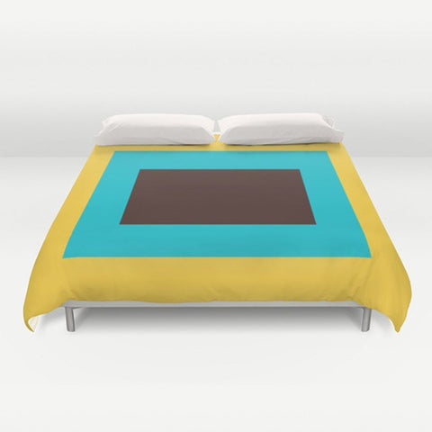 Block Color Duvet Cover - TheGretest - 1