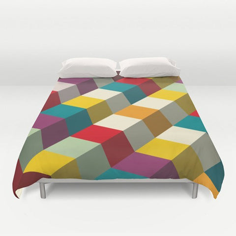 Colorful Style Duvet Cover - TheGretest - 1