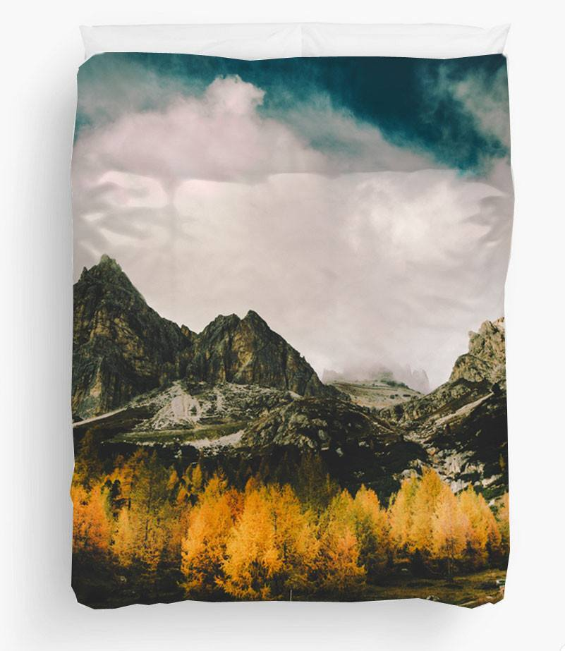 Mountains Duvet Cover-TheGretest