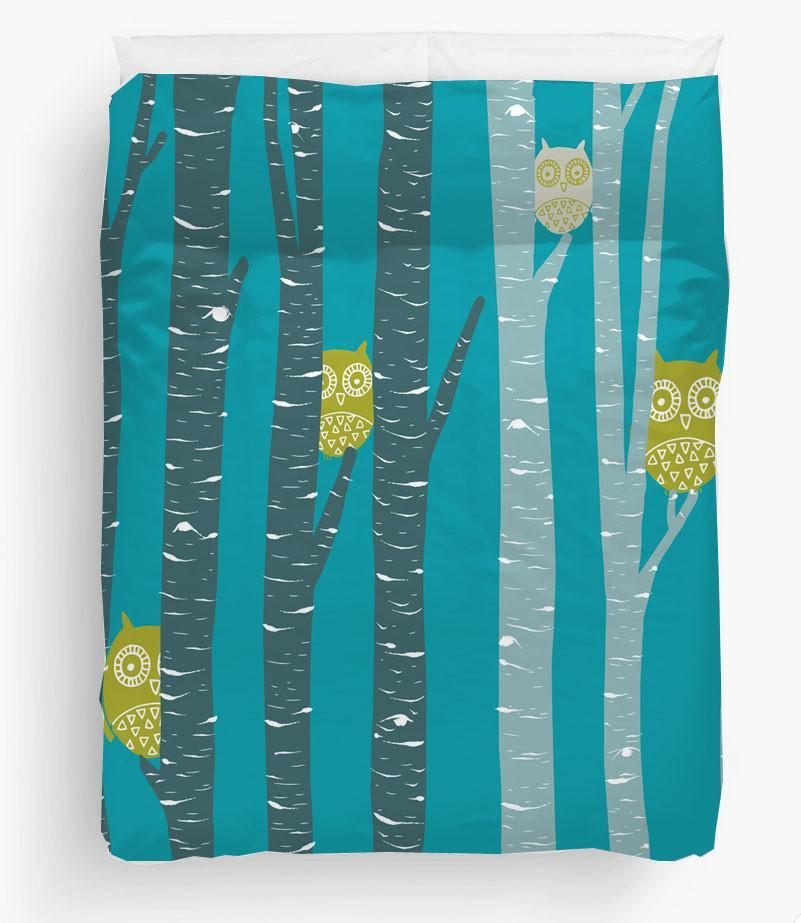 Owls Duvet Cover-TheGretest