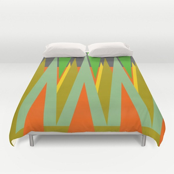 Rare Mountains Duvet Cover-TheGretest