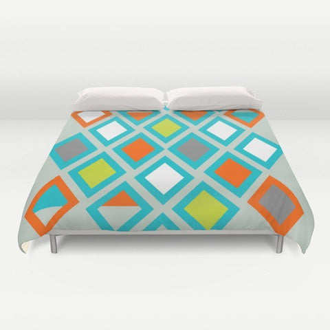 Rhombus Duvet Cover - TheGretest - 1
