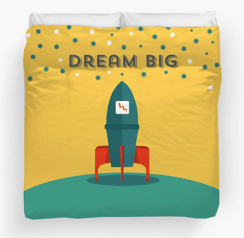 Skyrocket Duvet Cover