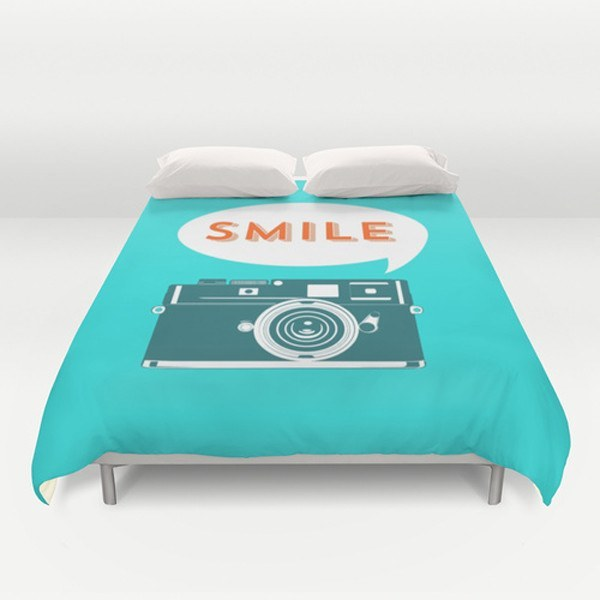 Smile Duvet Cover-TheGretest