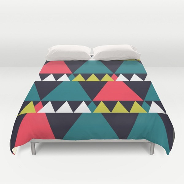 Triangles Duvet Cover-TheGretest