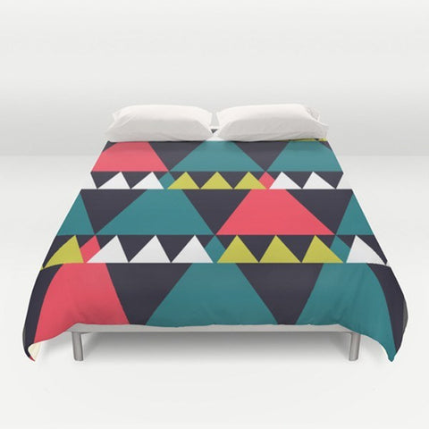Triangles Duvet Cover - TheGretest - 1