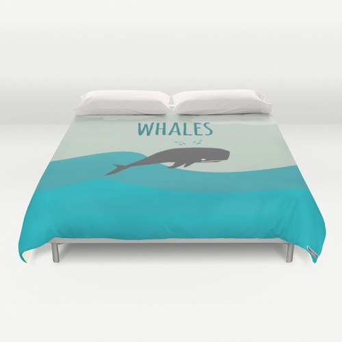 Whale Duvet Cover-Duvet Covers-TheGretest